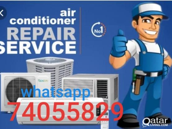 split and window ac for sale, repair, gassfiling