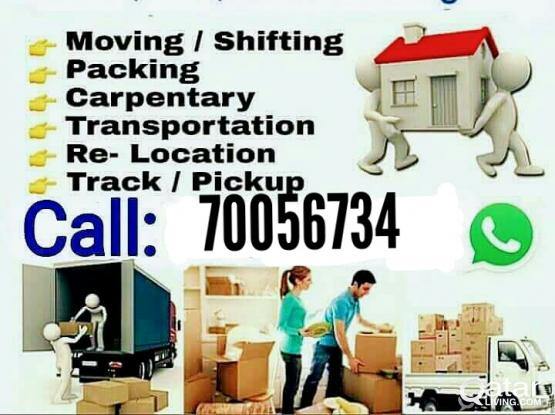 We do moving and shifting please call 70056734