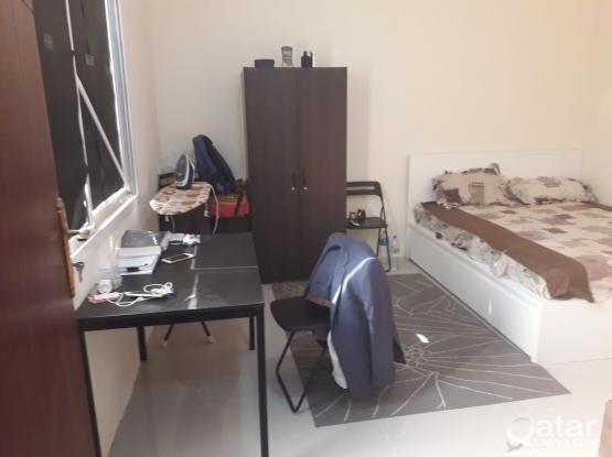 Fully furnished studio beside C ring road (behind Emadi financial square)