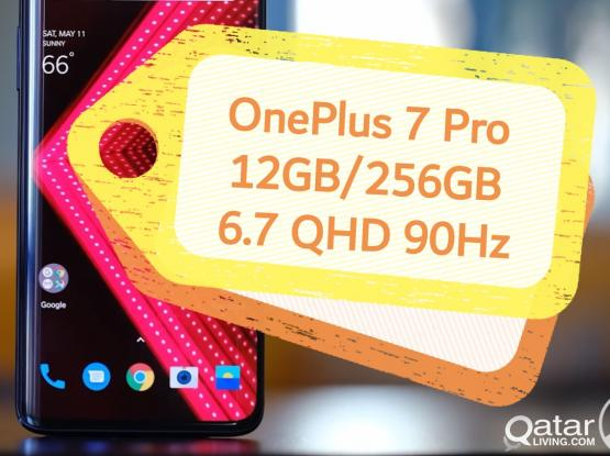 OnePlus 7 Pro (12 GB/256GB) 6.7 QHD 90Hz New