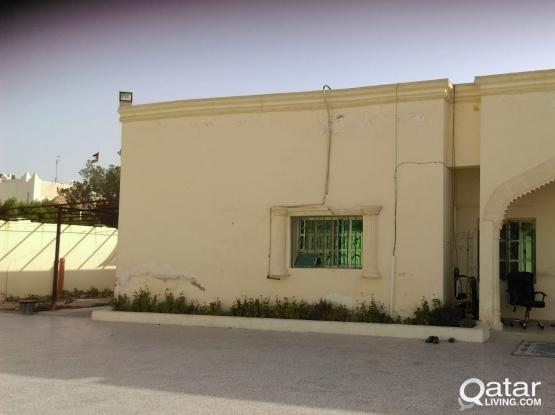 SPACIOUS VILLA PORTION 2 BHK AVAILABLE AT AL MAAMOURA (CLOSE TO EGYPTIAN SCHOOL)
