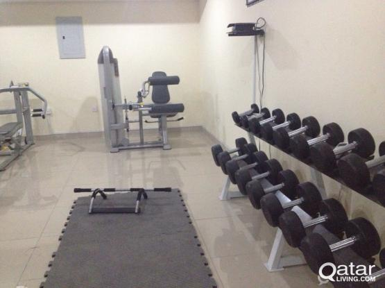 2months free!!Excellent f/f 1bhk apartment in Mushaireb with Gym