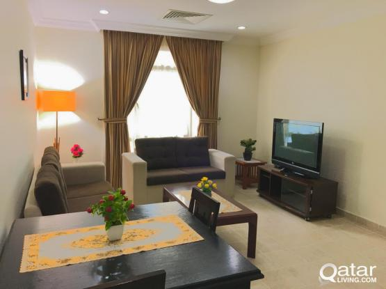 **NO COMMISSION** 1BHK ALL INCLUSIVE WITH GYM IN OLD SALATHA (CORNICHE)