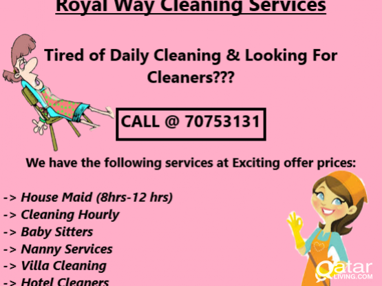 cleaning services in wakra and nearby Areas