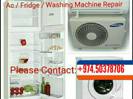 A/C, FRIDGE, WASHING MACHINE REPAIR CALL 50378706