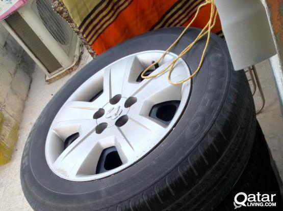 DODGE CALIBER 4 Rim & Wheel Coves