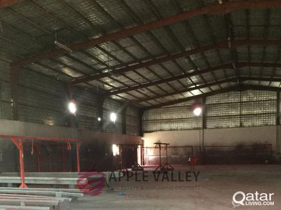 Warehouse for rent Steel Fabrication 1400 Sqmtr Land area 5400 sqmtr