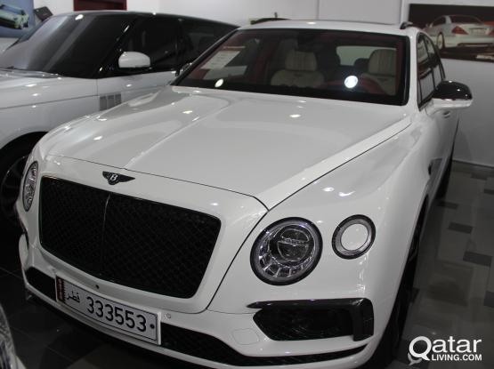 Bentley Bentayga 2018
