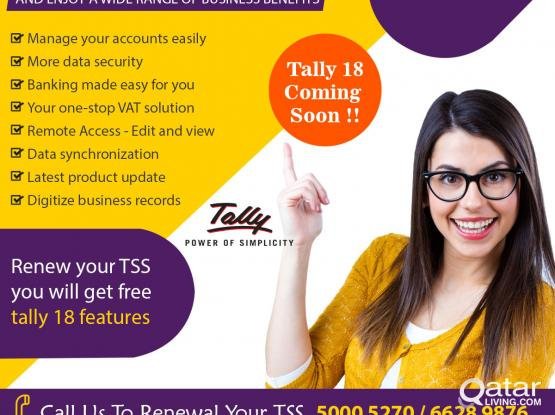 Tally Service & Support in Qatar 24 * 7