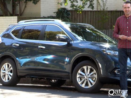 BEST OFFER FOR NISSAN XTRAIL 2016 MODEL (SUV WITH 4 BY 4)  FOR RENT , FOR CONTRACT :- 50399150