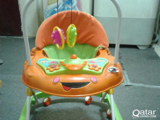 Baby Walker brand new rare use