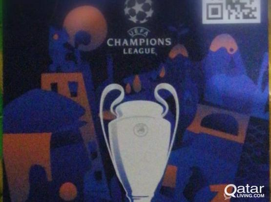 2 UEFA Champions League Final Tickets