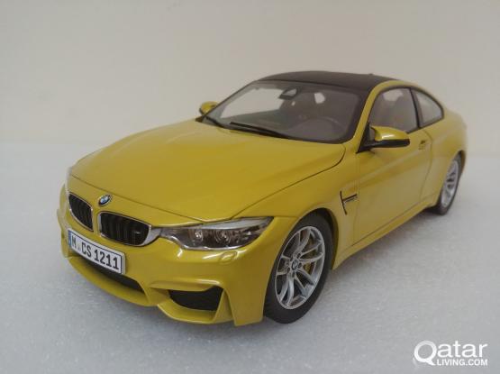 1:18 BMW M4 model car