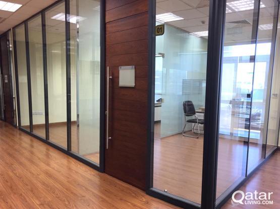 35 Sqm Fully Serviced Office in Al Sadd