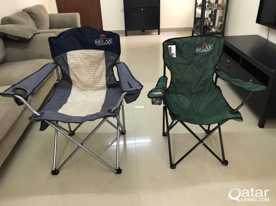 Folding Chairs (2) - NEVER USED
