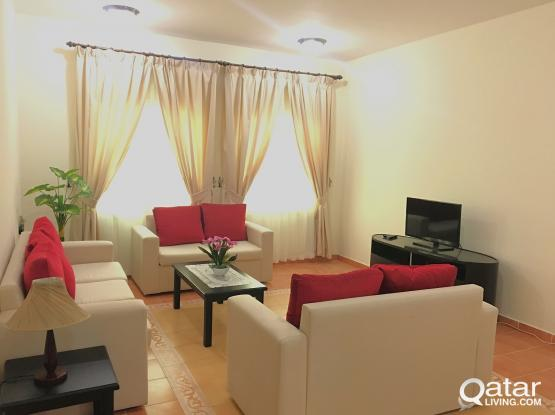 #NO COMMISSION# PROMOTIONAL OFFER! Fully Furnished 2BHK with WiFi Apartment in Al SADD