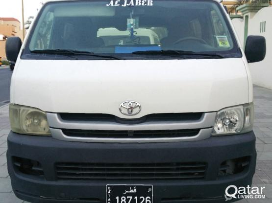 Toyota Hi-Ace 2008