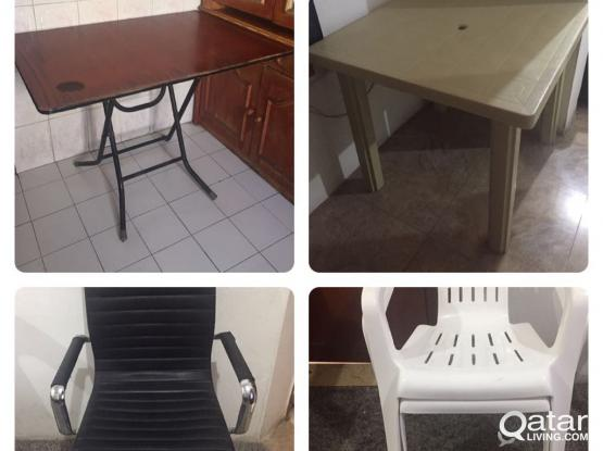 Tables & Chairs (low price)