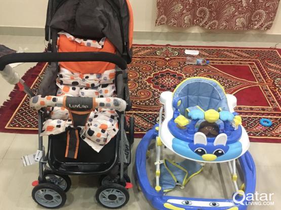 Baby Stroller and Walker