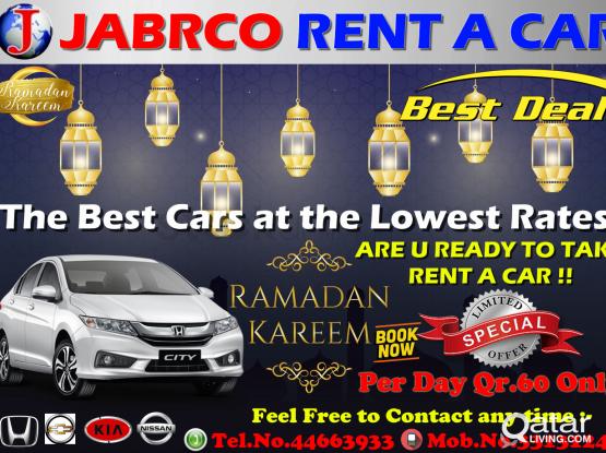 Nissan Sentra ,Honda City & Kia Cerato Available For Rent :- 44663933/33131241