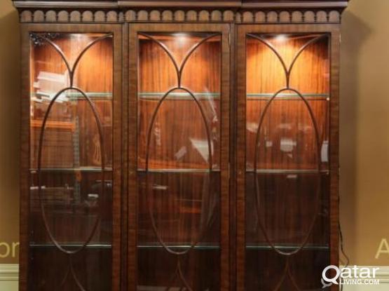 mahogany shelf