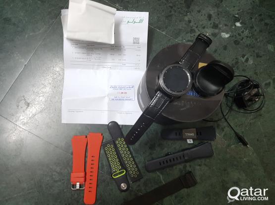 Samsung Gear s3 Under warranty for sale