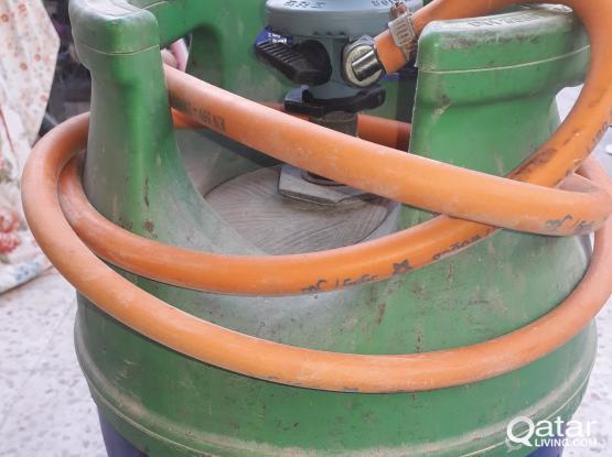 Big gas cylinder set