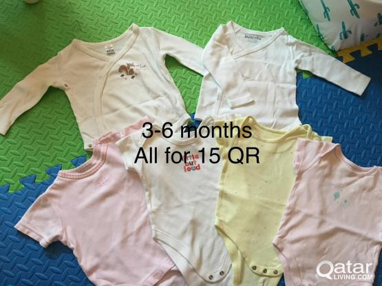 Pre loved cothes baby girl