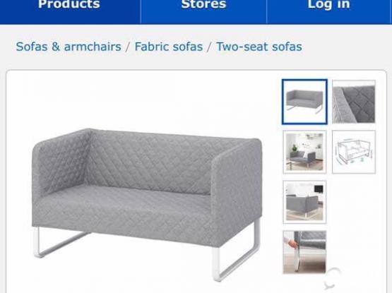 IKEA 2 seater sofa for sale QR 200