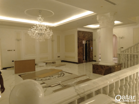 interior works for Villa