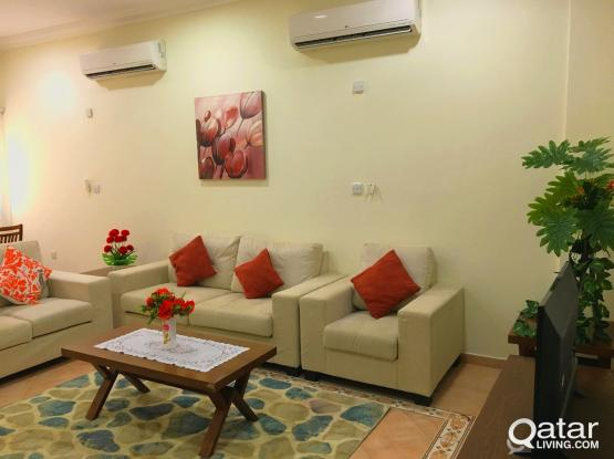 #NO COMMISSION# fully furnished 2BHK Apartment with GYM@ Bin Omran