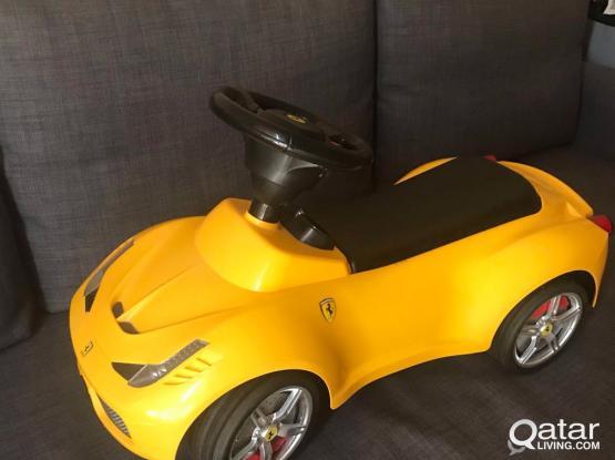 ferrari yellow car