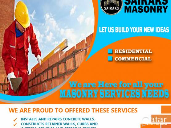 "Masonry Service ""Good Hands for Good Build"""