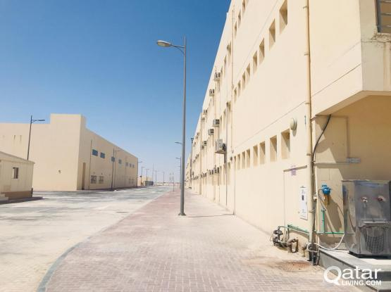 360 ROOMS  LABOUR  CAMP FOR RENT IN INDUSTRIAL AREA