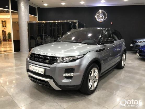 Land Rover Evoque Dynamic 2014