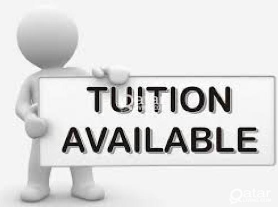 Tution Classes are available for K.G 1 to 10th @ Umm Ghwalina for Indian, Pakistani, Bangladeshi Sch