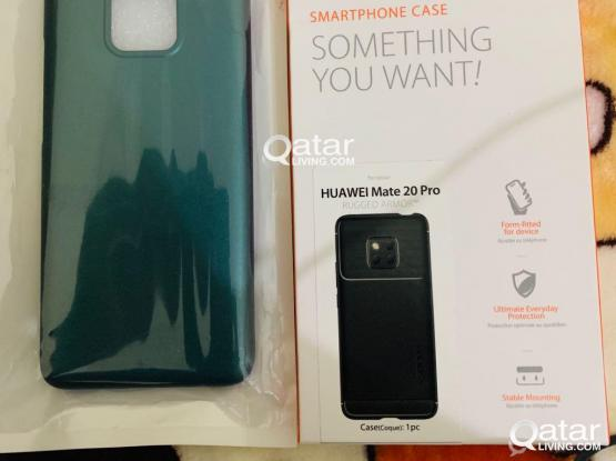 2 HUAWEI MATE 20 PRO COVERS NEW PRICE 100 for both