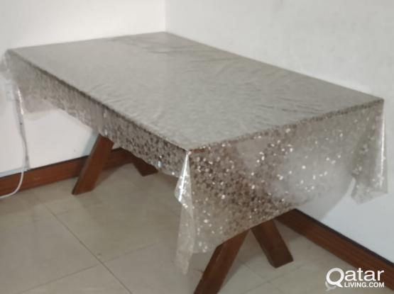 House furnitures and Items - Dinning table only, Dressing table with side table and Queen size medicated mattress