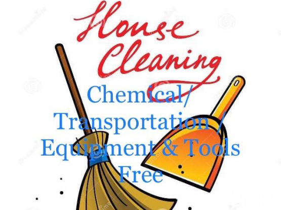 Professional cleaners for house and villa cleaning