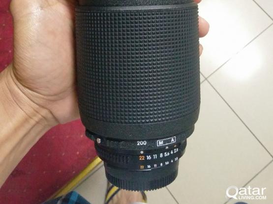 Nikon 80-200 f2.8 af- d