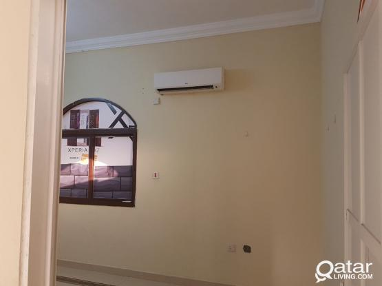 Semi furnished room available behind  smail super market