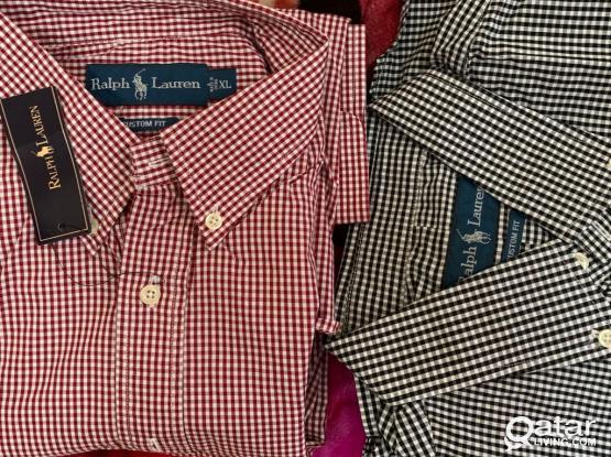 Ralph Lauren XL Shirts Custom Fit