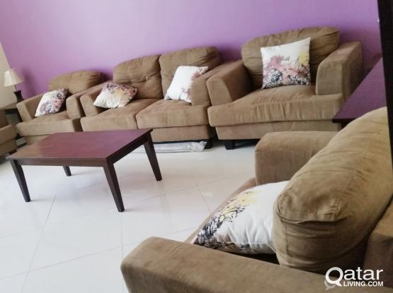 NO COMMISSION..INCLUDING ALL BILLS..1 BHK FURNISHED APARTMENT AT WAKRAH