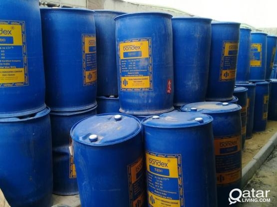 USED METAL & PLASTIC DRUMS