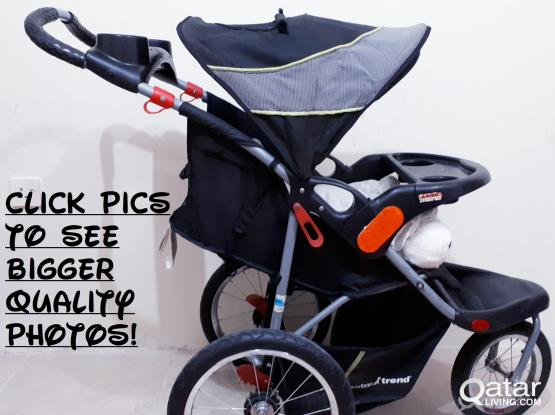 REAL Baby Trend Expedition Jogging Stroller System