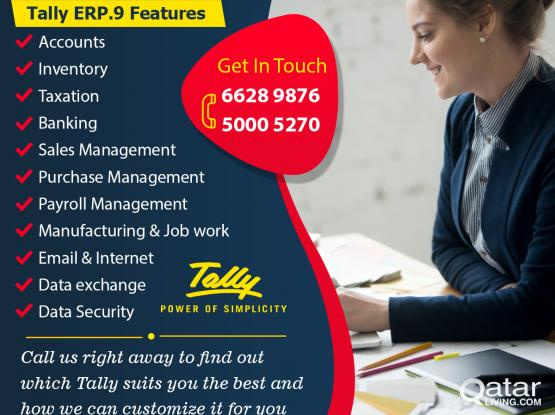 TALLY ACCOUNTING SERVICES IN QATAR