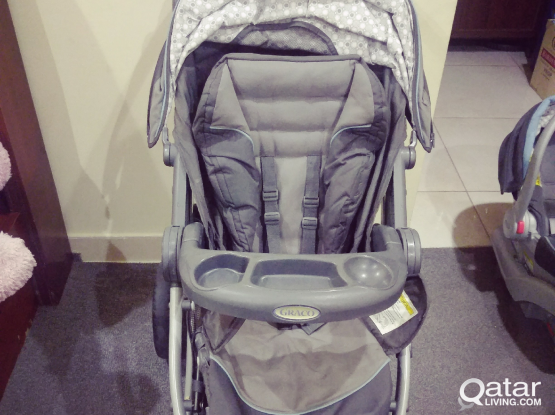 baby stroller and baby car seat