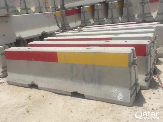 3 meter concrete barriers
