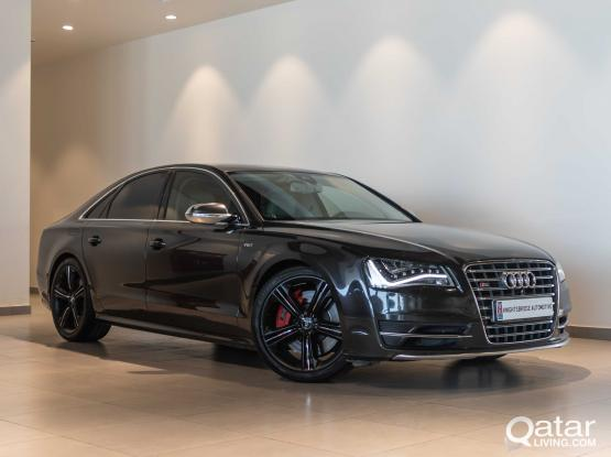 Audi S 8 2014