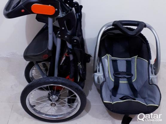 Jogging Stroller System by Baby Trend Expedition